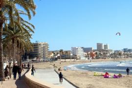 Palma registra su récord de temperatura mínima más alta en enero