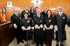 Juran su cargo tres magistrados con destino a dos juzgados de Palma y uno de Inca
