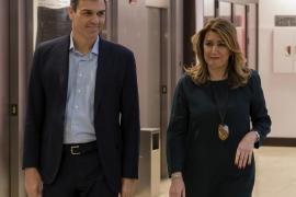 Díaz: «Sánchez cuenta con la ayuda del PSOE andaluz y con la mía la primera»