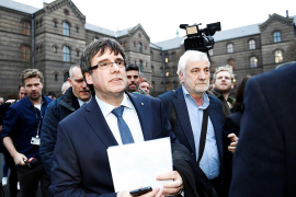 JxCat retira la petición de delegación de voto de Puigdemont en el pleno de investidura