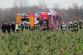 Cuatro muertos tras chocar en el aire una avioneta y un helicóptero
