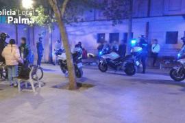 La Policía Local de Palma hizo 940 confiscaciones de droga en 2017