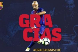 El Barcelona despedirá institucionalmente a Javier Mascherano