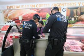 La policía de Calvià lanza una campaña para fomentar la seguridad en los comercios