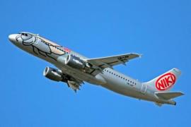 La aerolínea austriaca Niki volverá a volar a finales de marzo con 15 aviones