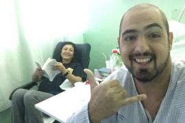 Un joven enfermo de leucemia encuentra un donante compatible el día de su cumpleaños