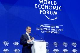 El Rey, en Davos: «La Constitución no es un mero ornamento, sino el pilar de la coexistencia»