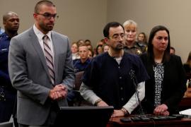 Condenado hasta 175 años de cárcel el exmédico de equipo de gimnasia de EEUU