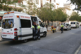 Las ambulancias de Balears mantienen la huelga prevista para mañana