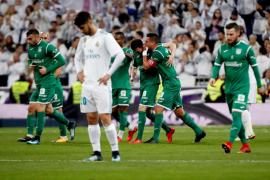 El Leganés elimina al Real Madrid y disputará sus primeras semifinales