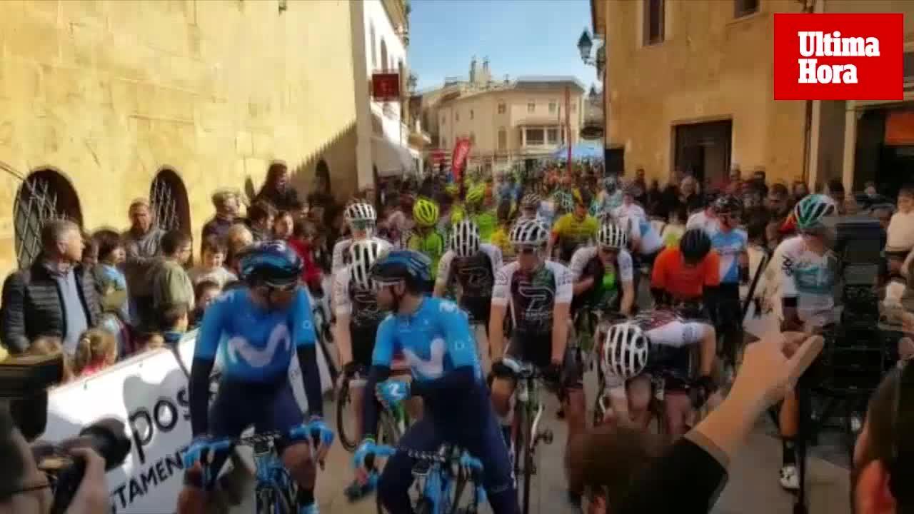 Valverde vuelve a rodar en Mallorca