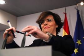 El Gobierno anuncia un recurso para impedir la investidura de Puigdemont