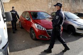 Localizado el conductor que se dio a la fuga tras chocar con un motorista en Palma