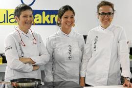Marga Coll, Marta Rosselló y Sílvia Anglada versionan las 'sopes' en Madrid Fusión