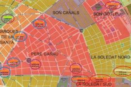 La Policia Nacional detiene en Palma un ladrón reincidente que asaltaba a sus víctimas por la noche