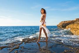 La modelo internacional Toya Montoya, protagonista de Adlib 2018