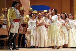 El Teatre Principal estrena hoy la tormentosa historia de amor 'Carmen'