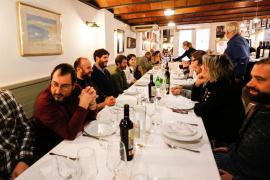 Juan Riera celebra su 76 cumpleaños con los medios de comunicación de Ibiza