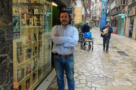 La calle Argenteria de Palma languidece