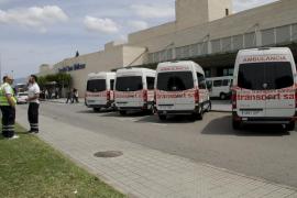 CCOO advierte que la huelga de ambulancias tendrá una  mayor incidencia esta tarde