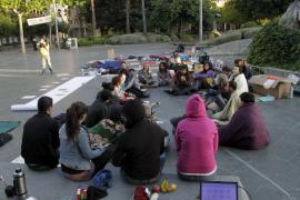 Los activistas por la «democracia real» obtienen la simpatía ciudadana