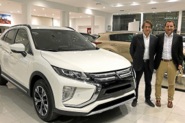 El Mitsubishi Eclipse Cross, disponible en Autovidal