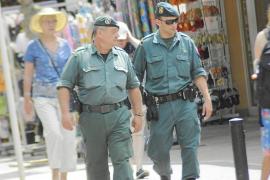 La Guardia Civil pone en marcha un dispositivo de cercanía en Peguera y Santa Ponça