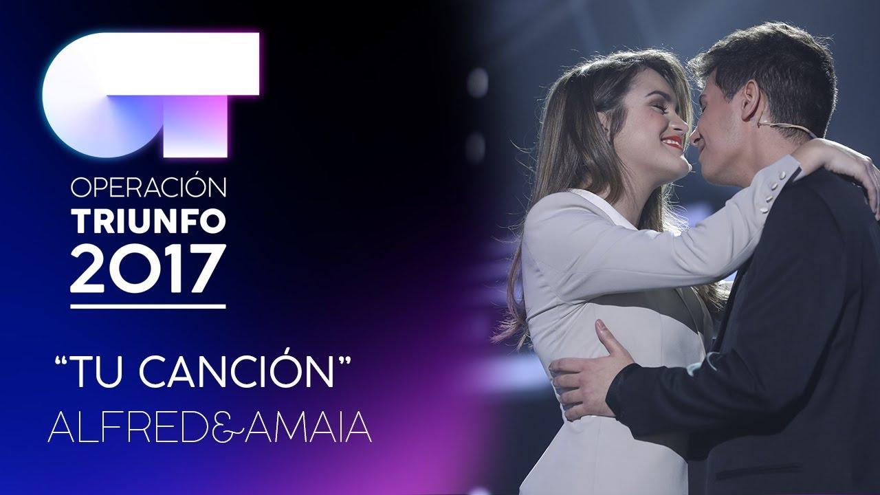 Amaia y Alfred, con el tema 'Tu canción', representarán a España en Eurovisión 2018