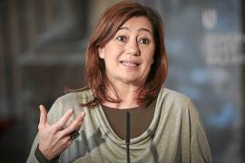 Armengol: «Los conflictos institucionales se resuelven con diálogo»