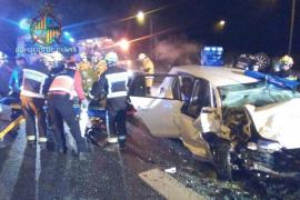 El conductor responsable del accidente en la autopista de Inca sale del hospital y queda en libertad