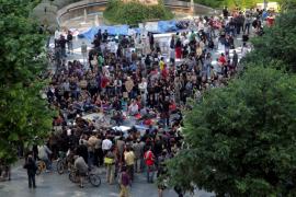 Los concentrados en Palma llaman a la participación ante un posible desalojo