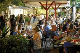 El Pacte eliminará más del 40 % de las terrazas de Santa Catalina y es Jonquet