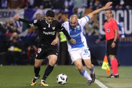 Leganés y Sevilla dejan abierta para la vuelta su semifinal copera