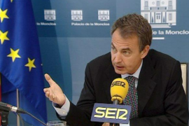 Zapatero augura un mes  de mayo «muy positivo» para el empleo