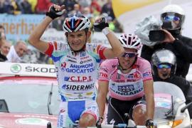 Rujano se llevó la primera etapa de gran montaña y Contador sigue líder