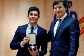 Marc Márquez recibe la medalla de oro de la Real Orden al Mérito Deportivo