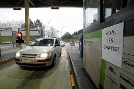Unos 8.000 vehículos diarios han hecho uso del túnel de Sóller en enero