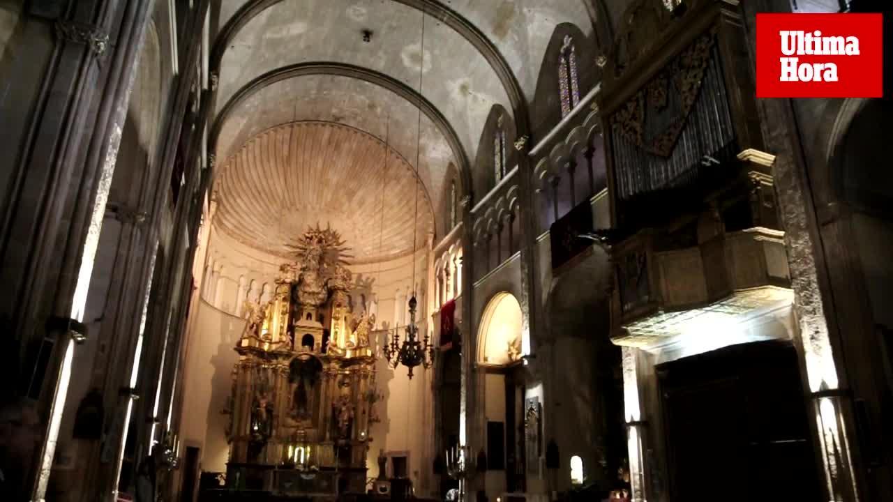 Sant Nicolau estrena iluminación para dotar el templo de «armonía»