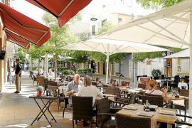 Restauración rechaza la eliminación de terrazas en Palma que propone el Pacte