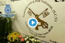 Desarticulada una banda que actuaba suplantando al Banco Vaticano para conseguir fondos