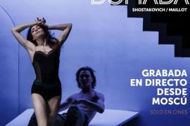 Proyección de la pieza de ballet 'La fierecilla domada' en Ocimax