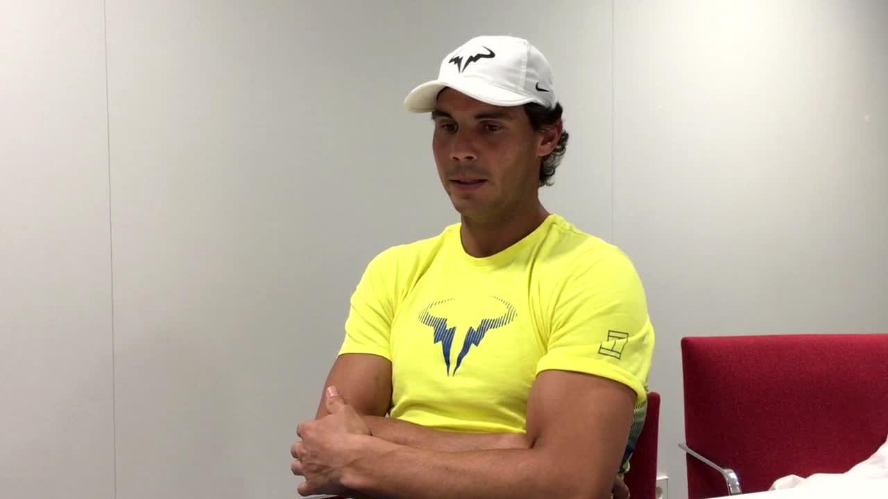 Rafael Nadal: «Soy familiar y aprecio ser de un pueblo»