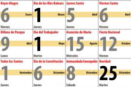 El último Consell de Govern de la legislatura aprueba el calendario de festivos para 2012