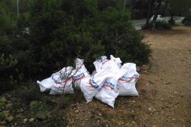 El autor de un vertido de 84 sacos de escombros en Calvià se enfrenta a una multa de hasta 45.000 euros