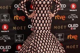 Las imágenes de la alfombra roja de los Premios Goya 2018