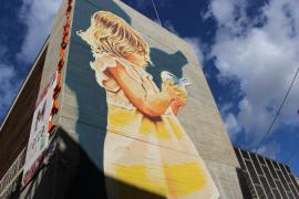 Inca celebra el Día de la Mujer en la Ciencia con un mural de Joan Aguiló