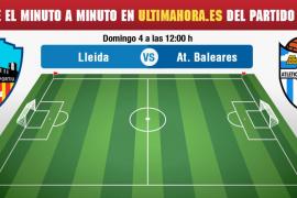 Lleida-Atlético Baleares, en vivo