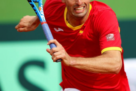 Ramos sufre, pero envía a España a cuartos de final de la Copa Davis
