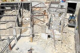Multa de 12.000 euros por no tratar los escombros del derribo de Can Bibiloni