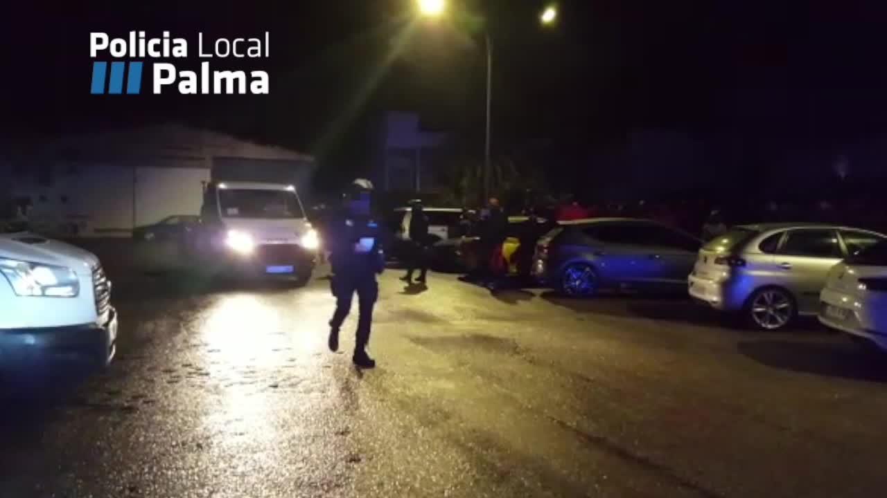 Más de treinta denuncias por conducción temeraria y botellón en Can Valero